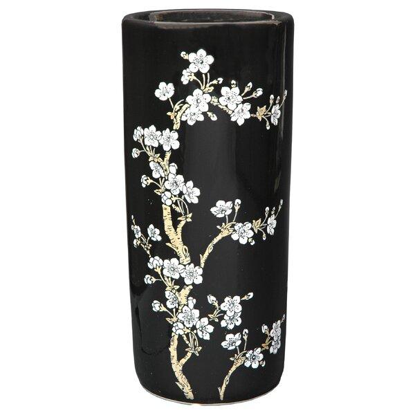 Flower Blossom Umbrella Stand by Oriental Furniture