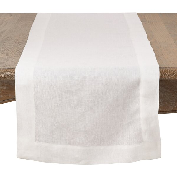 Victorino Linen Table Runner by Ophelia & Co.