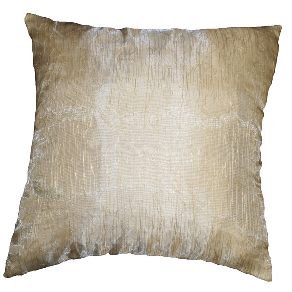 Eden Lace Tafetta Nittle Mesh Throw Pillow by Violet Linen
