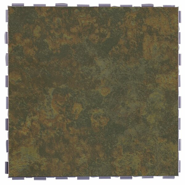 Classic Standard 12 x 12 Porcelain Field Tile in Moss by SnapStone