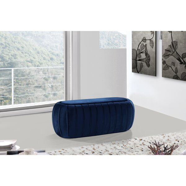 Bonview Tufted Ottoman by Mercer41