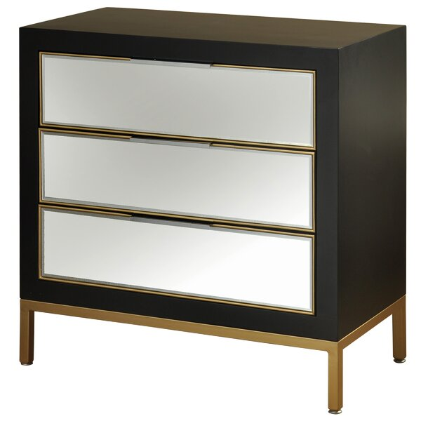Anza 3-Drawer Chest by Mercer41