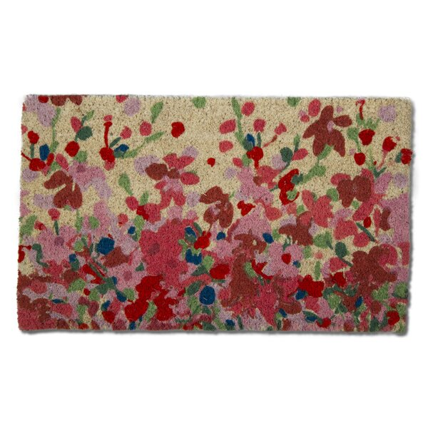 Petals Coir Doormat by TAG