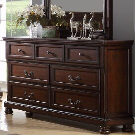 Carnell 7 Drawer Dresser A and J Homes Studio