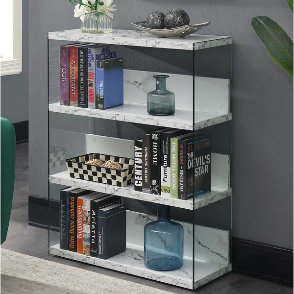 Calorafield 4 Tier Standard Bookcase by Wade Logan