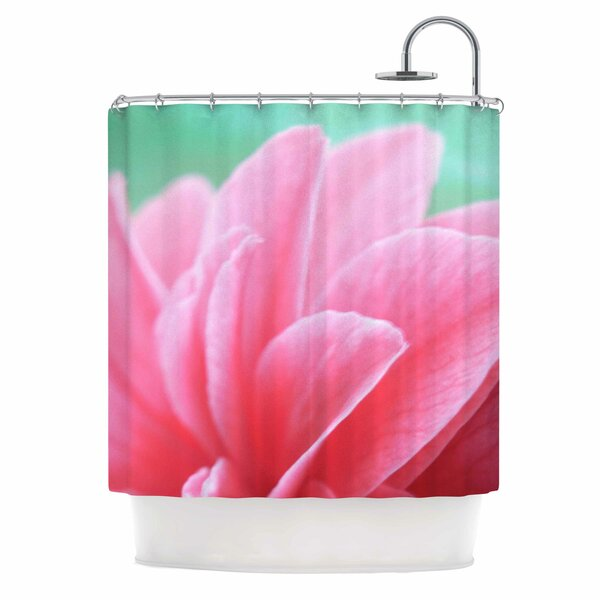 Alison Coxon Camellia Shower Curtain by East Urban Home