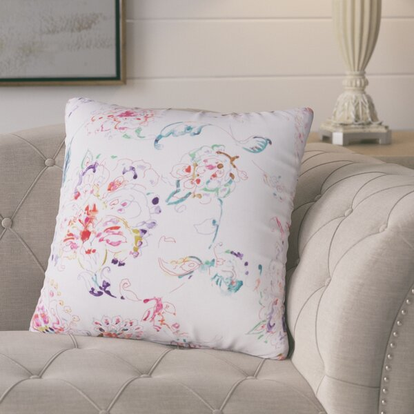 Primavera Linen Throw Pillow by Lark Manor