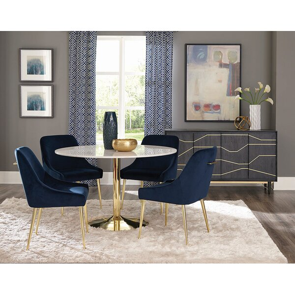 Upholstered Side Chair (Set Of 2) By Everly Quinn