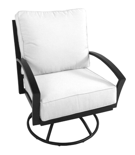 Maddux Patio Chair with Cushion by Meadowcraft