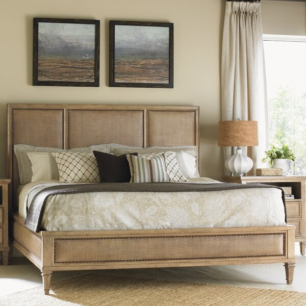 Monterey Sands Upholstered Panel Bed by Lexington