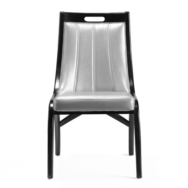 Sylvie Upholstered Dining Chair (Set of 2) by Latitude Run