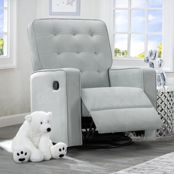 Gavin Nursery Manual Swivel Glider Recliner by Delta Children