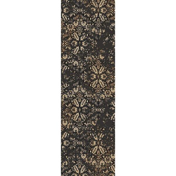 Kulpmont Oriental Black Area Rug by Gracie Oaks