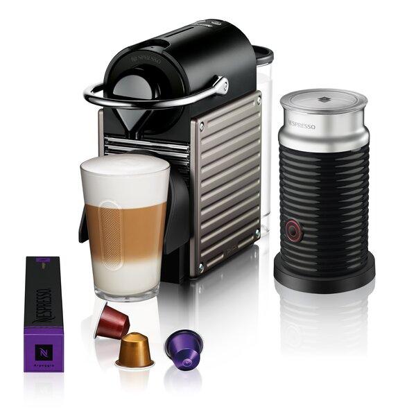 Breville Nespresso Pixie Bundle Pod Espresso Machine by Nespresso