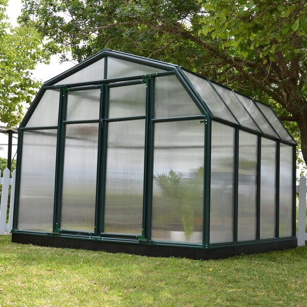 Hobby Gardener 2 Twin Wall 8 Ft. W x 8 Ft. D Greenhouse by Rion Greenhouses