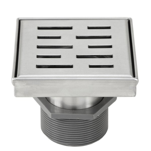 Linear Grid Shower Drain by eModern Decor