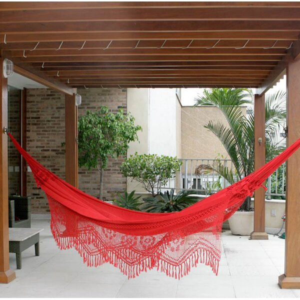 Solid Cotton Tree Hammock by Novica