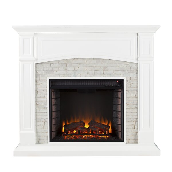 Shanley Electric Fireplace By Alcott Hill