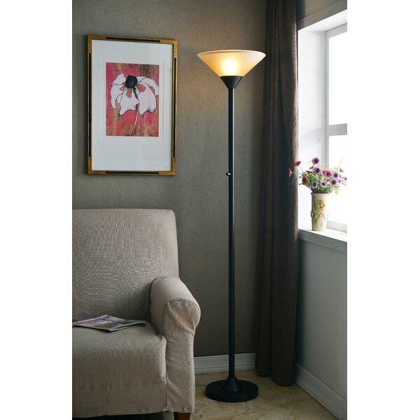 Edward 70 Torchiere Floor Lamp by Zipcode Design