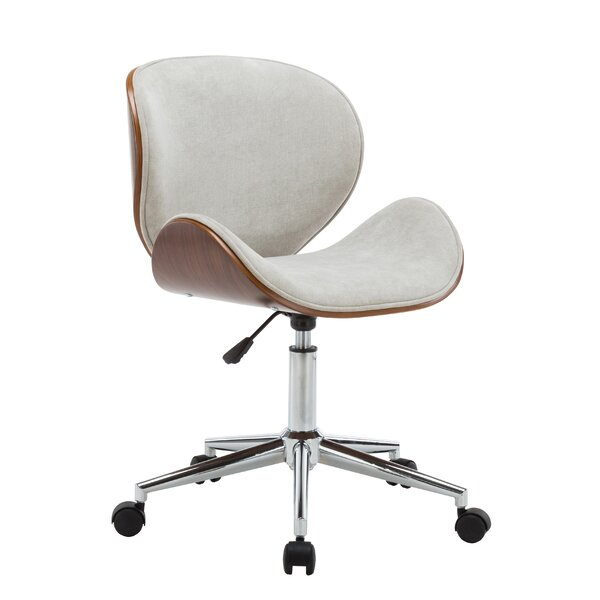 Bridport Adjustable Office Low-Back Drafting Chair by George Oliver