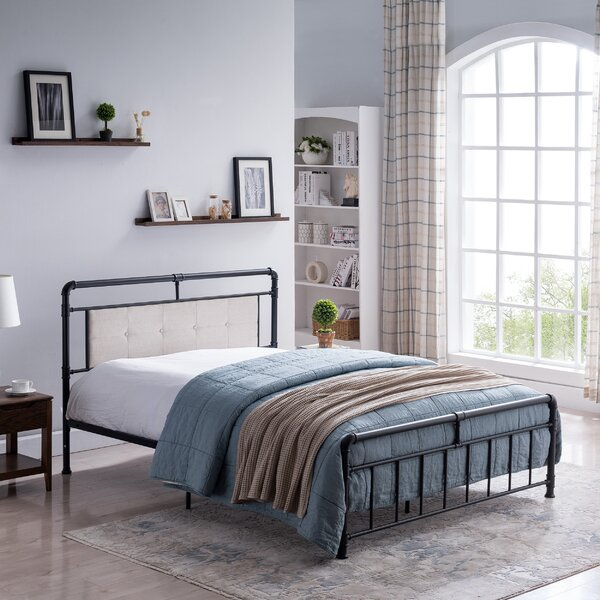Suzuki Queen Upholstered Standard Bed by Gracie Oaks