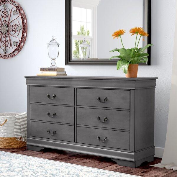 Labrecque 6 Drawer Double Dresser by Laurel Foundry Modern Farmhouse