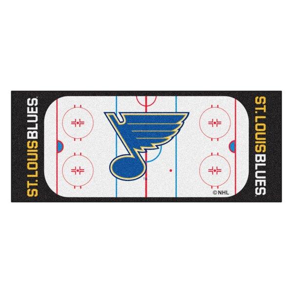NHL - St. Louis Blues Rink Runner Doormat by FANMATS