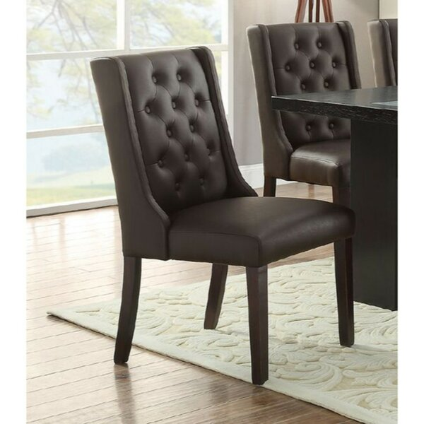 Rudnick Royal Upholstered Dining Chair (Set of 2) by Charlton Home