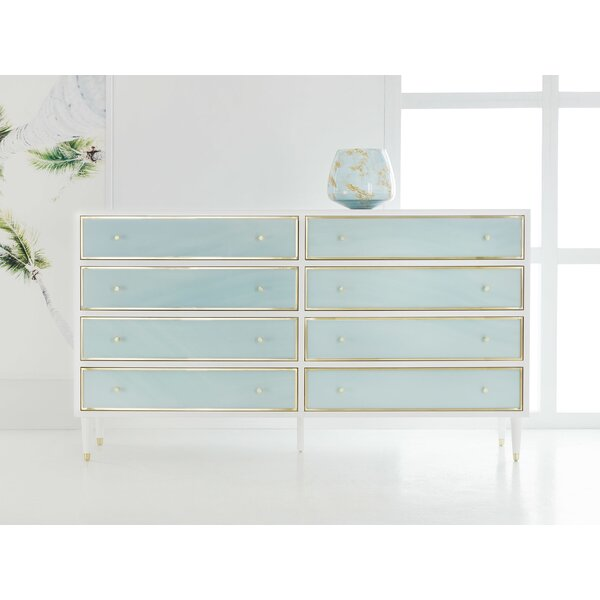 8 Drawer Double Dresser by Modern History Home