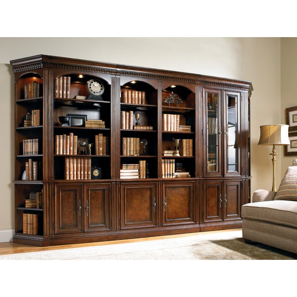 European Renaissance II Oversized Set Bookcase by Hooker Furniture