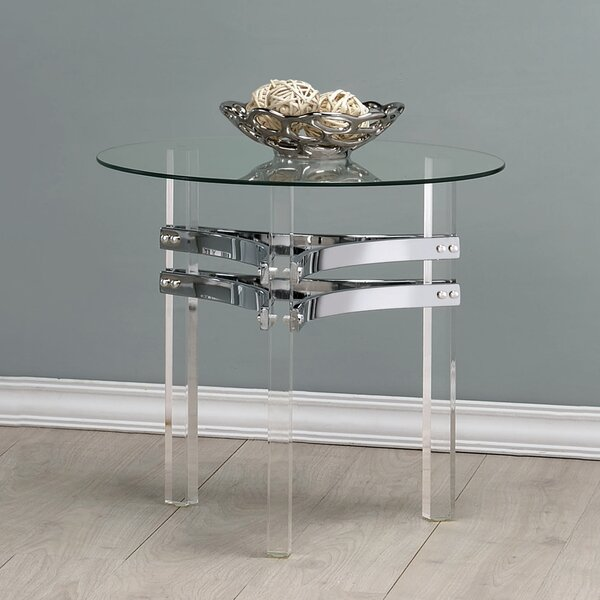 Trinton End Table by Orren Ellis