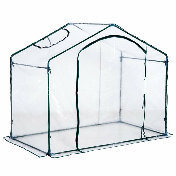 3.5 Ft. W x 6 Ft. D Greenhouse by Outsunny