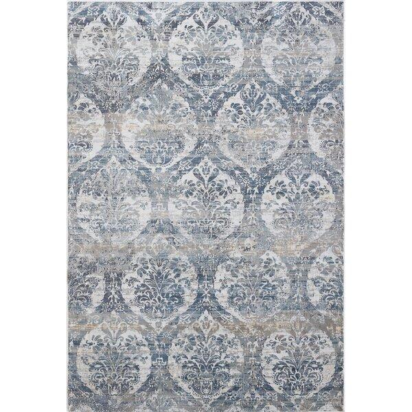 Calliope Gray/Blue Area Rug by House of Hampton