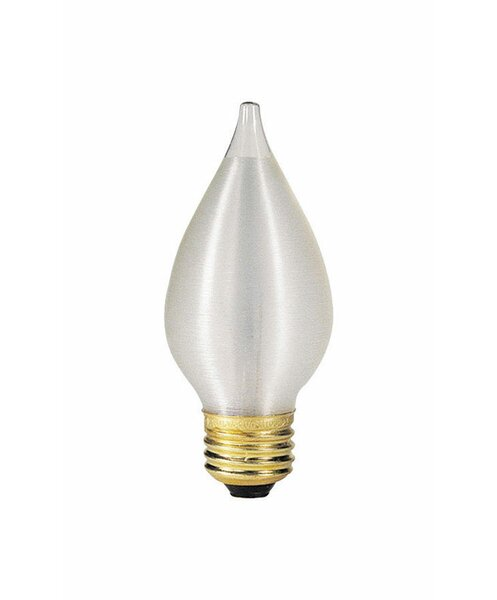 60W E26 Dimmable Incandescent Edison Candle Light Bulb by Westinghouse Lighting