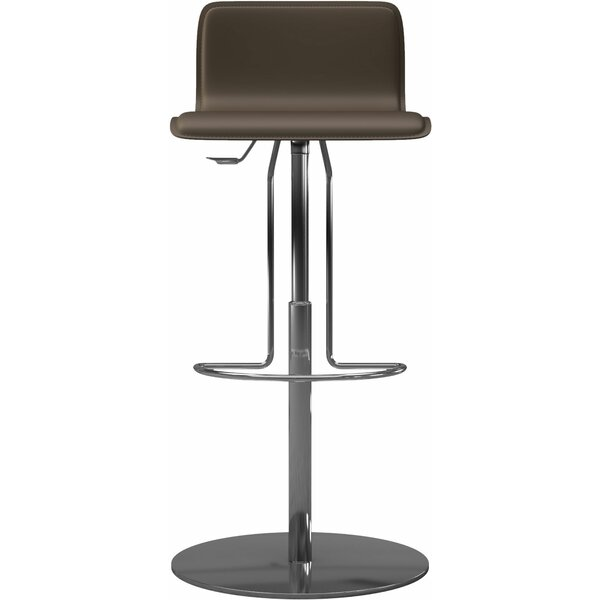 Prato Adjustable Height Bar Stool by Modloft