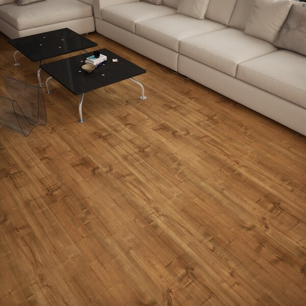 Dombrowski 8 x 48 x 12mm Maple Laminate Flooring in Flores by Serradon