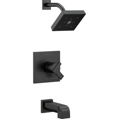 Shower Faucet Tub Matte Black 593 Product Image