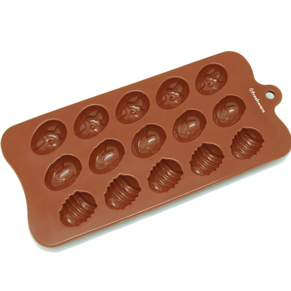 15 Cavity Silicone Mold Pan by Freshware