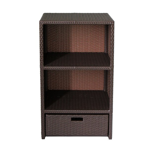 Nordin Indoor/Outdoor Freestanding Accent Cabinet by Ebern Designs Ebern Designs