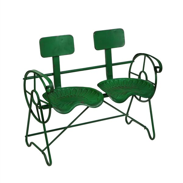 Noble Tractor Garden Bench by August Grove