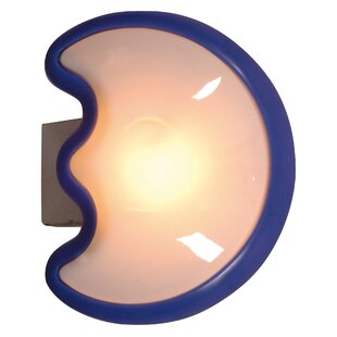 Childrens wall lights youll love buy online wayfair mond half moon wall light mozeypictures Gallery