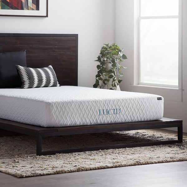10 inch Firm Gel Memory Foam Mattress by Lucid Comfort Collection