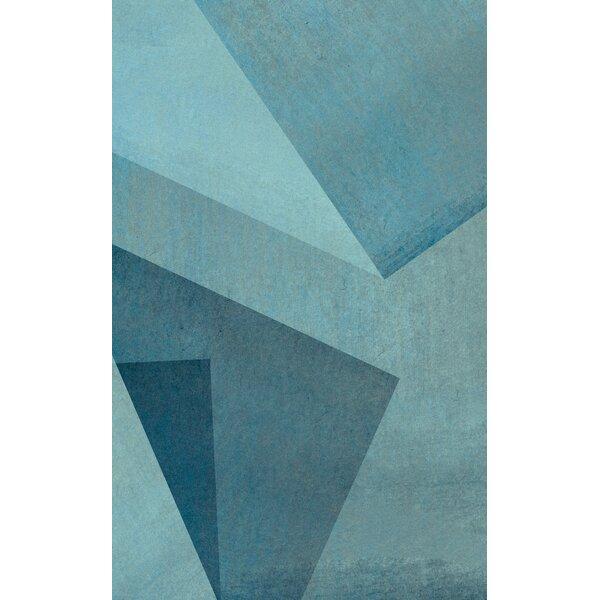 Blue Area Rug by Corrigan Studio