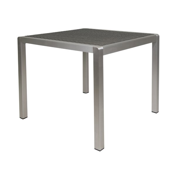 Germania Anodized Aluminum Dining Table by Orren Ellis