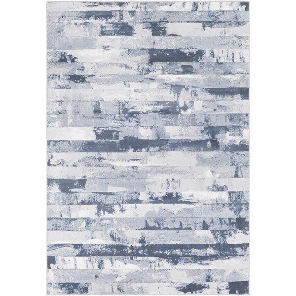 Carita Denim/Gray Area Rug by Williston Forge