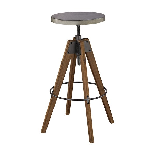 Malais Accent Stool by 17 Stories