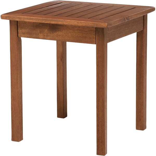 Lancaster Solid Wood Side Table by Plow & Hearth