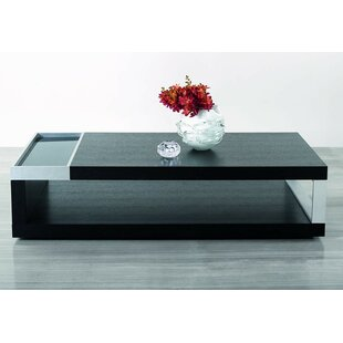 Camron Wood Top Coffee Table