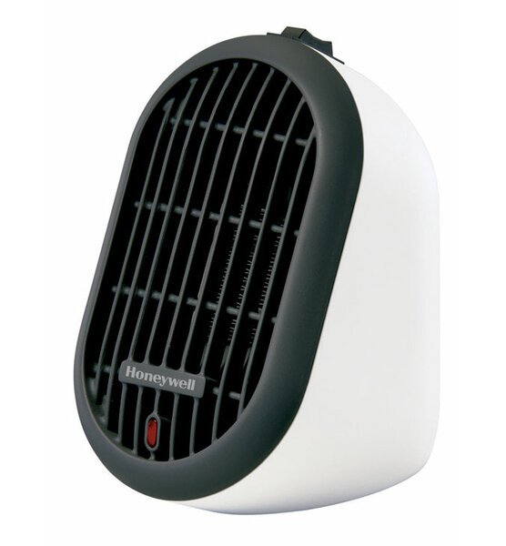 250 Watt Portable Electric Compact Heater with Thermostat by Honeywell