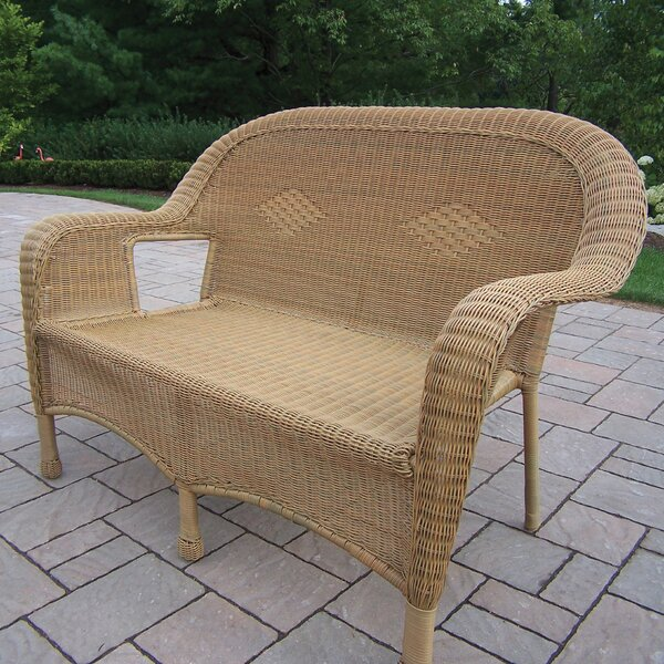Kingsmill Traditional Loveseat by Rosecliff Heights Rosecliff Heights